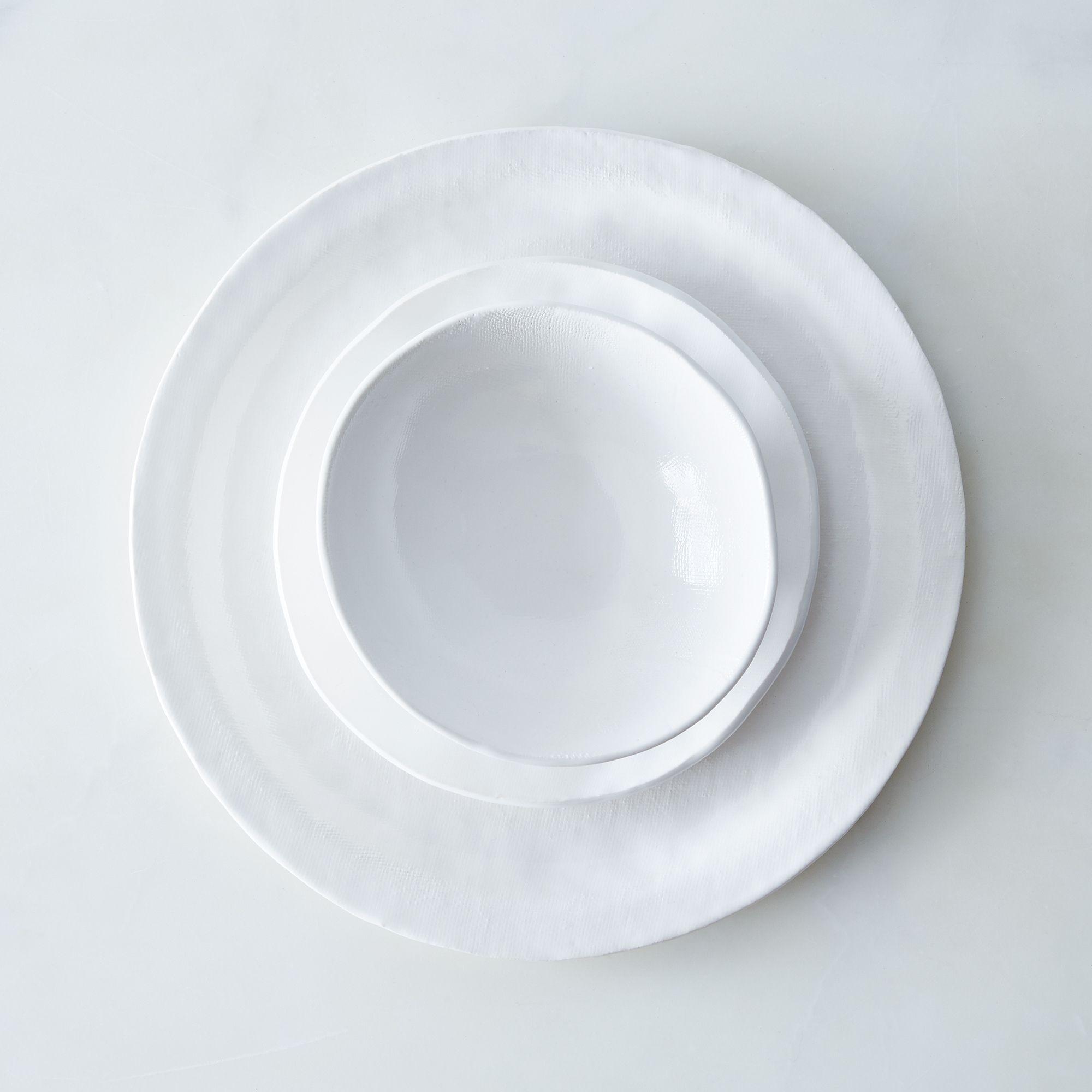 8b723f06 a0f8 11e5 a190 0ef7535729df  2015 0622 looks like white handmade porcelain textured dinnerware 3 piece set silo james ransom 001