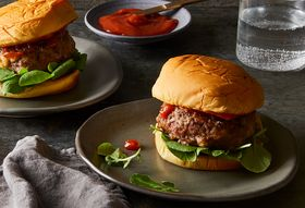 Our New Favorite Burger Takes a Cue from Meatloaf