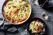 Martha Stewart's Super Famous One-Pot Pasta, Spring Edition