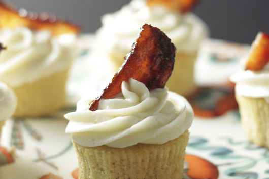 Bacon and Beer Cupcakes