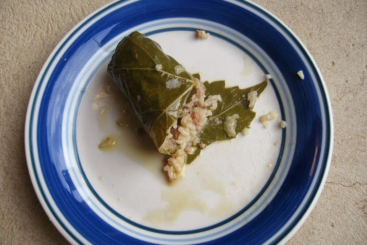 Greek style Dolmathes with or without avgolemono