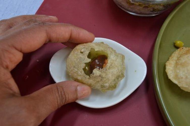 Golgappa or panipuri