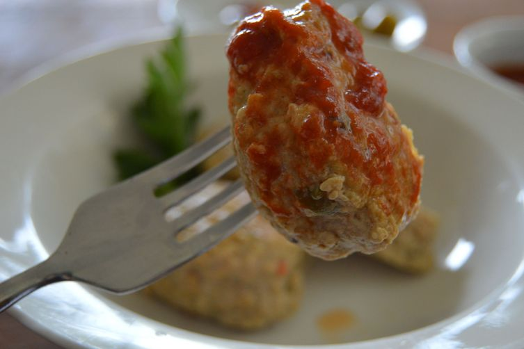 spanish-style spicy turkey polpette