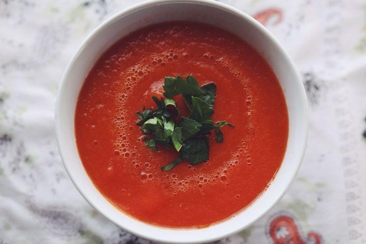 CARROT-TOMATO SOUP