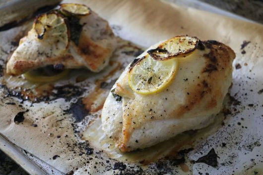 Lemon Basil Sheet Pan Chicken
