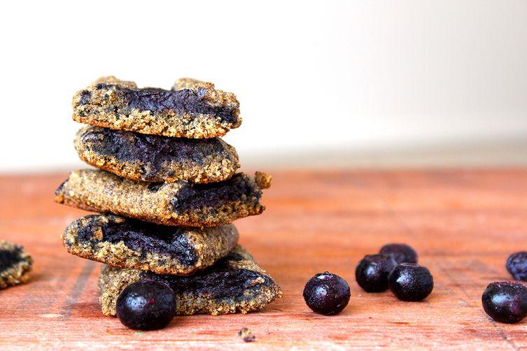 Blueberry Newtons (homemade fig newtons)