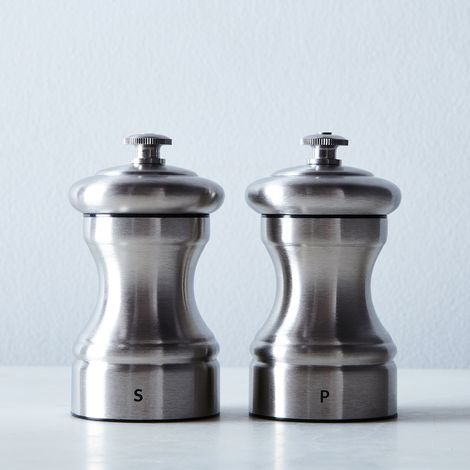 Peugeot Bistro Stainless Steel Salt & Pepper Mill Set