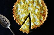 Corn, Spring Onion, and Ricotta Tart