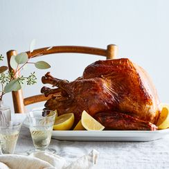 Very Lemony Brined Turkey