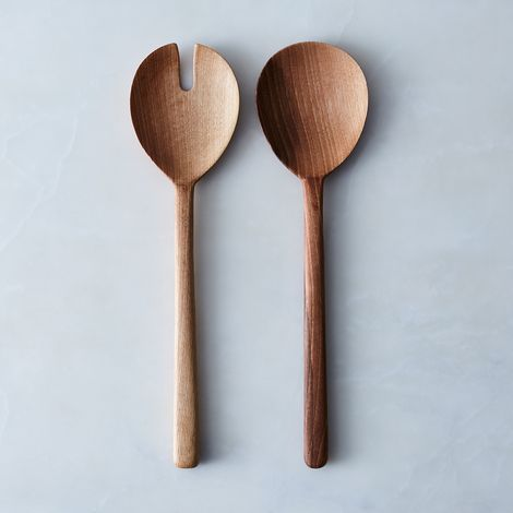 Simple Walnut Serving Set