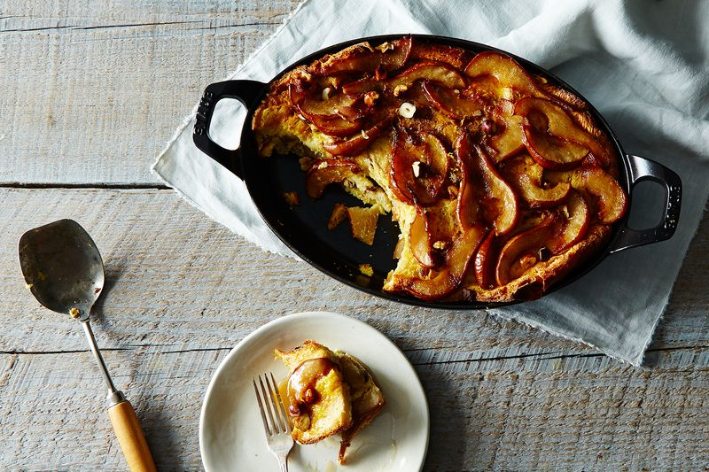 Caramelized Pear French Toast Bake
