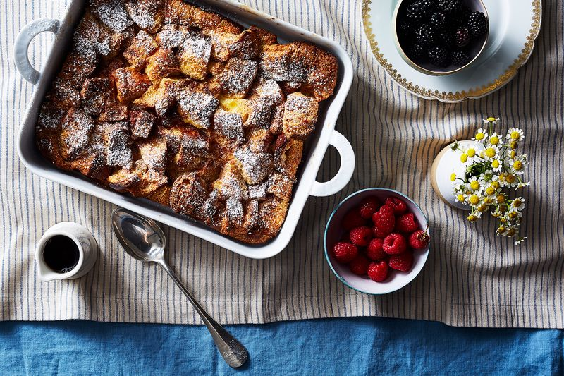 Challah is essential to a Jewish breakfast spread. Why not in French toast form?