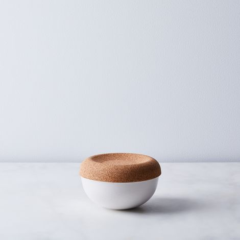Emile Henry French Ceramic Salt Cellar
