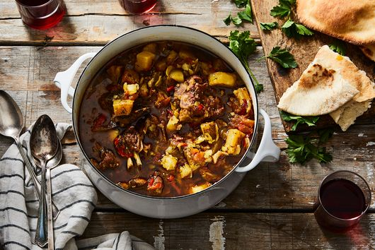 Tunisian Lamb Stew (Koucha)