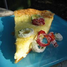 Texas Twister Buttermilk Pie