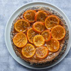 Northern Italian Flourless Butterless Poppyseed Cake