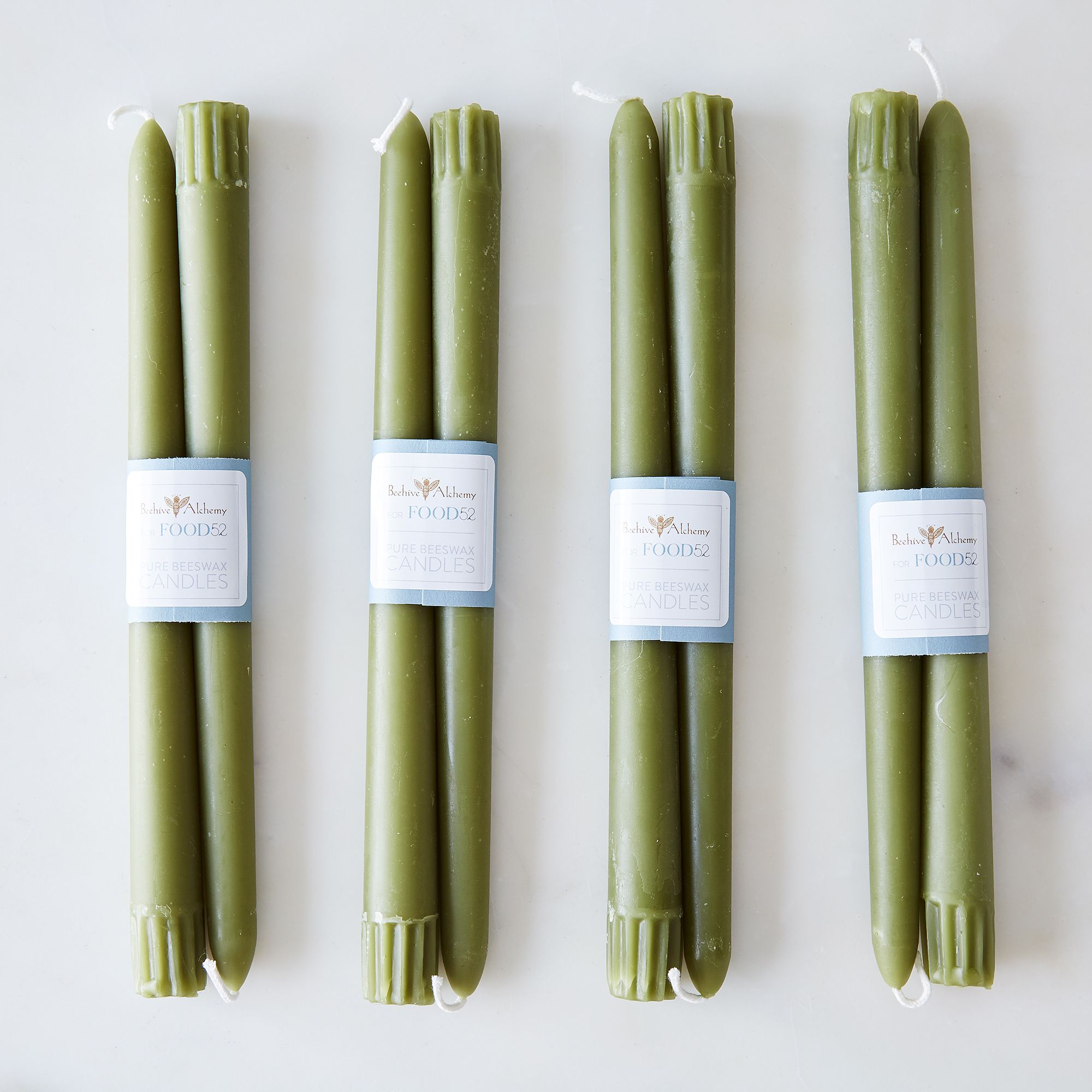 0ab34144 a0f8 11e5 a190 0ef7535729df  2015 0416 beehive alchemy 10 colored beeswax taper candles set of 8 moss silo bobbi lin 1425