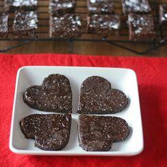 Two Bite Peanut Butter Chocolate Brownies (Vegan)
