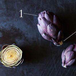 Baby Purple Artichokes: Small Size, Big Heart