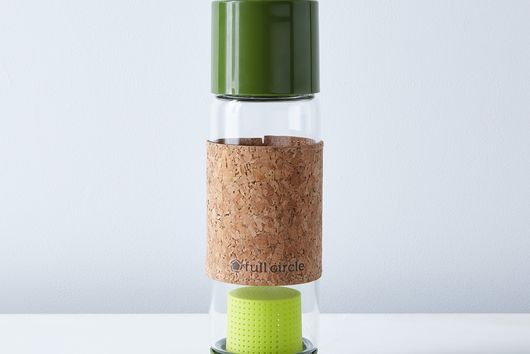 Glass Travel Tea Bottle