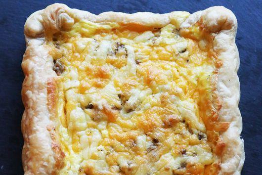 Puff Pastry Breakfast Casserole