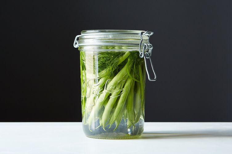 Fantastic Fermented Green Beans
