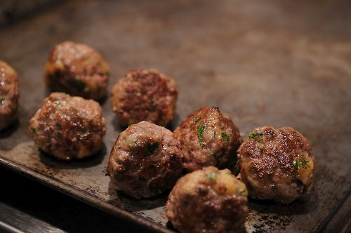Meatballs Emilia-Romagna with Pasta Sheets