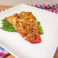 Mustard Maple Walnut Salmon