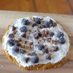 Paleo Pumpkin Bread Breakfast Pizza