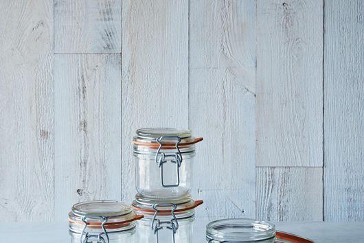 Le Parfait 7 Ounce Bail Closure Canning Jar (Set of 4)