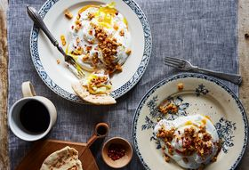 Ec43ba70 65f7 4492 a962 72a6c4c456f3  2016 1213 turkish poached eggs with yogurt and walnuts bobbi lin 13347