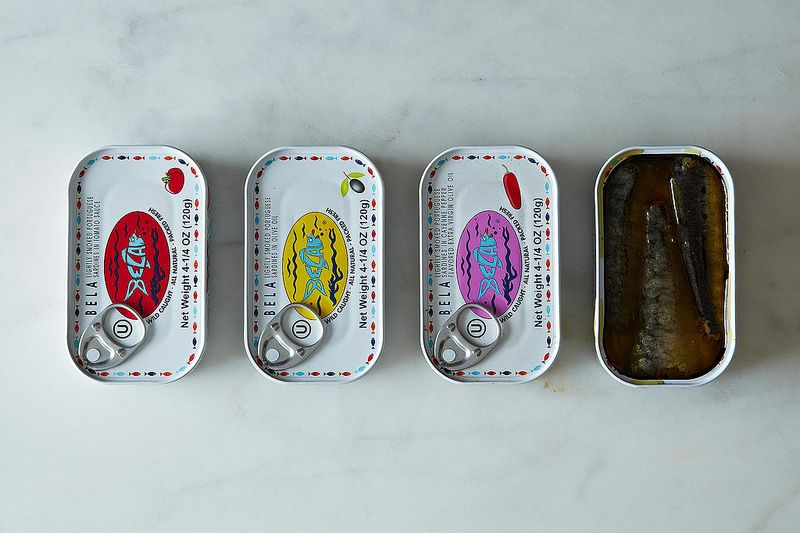 Assortment of Bela Portuguese Sardines
