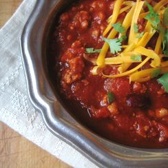 Chrissy's Best Chili Ever