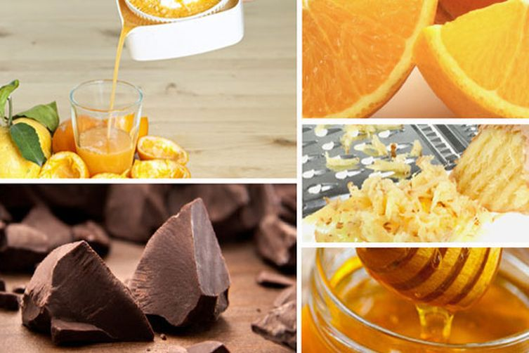 Chocolate Ginger Mousse with Oranges