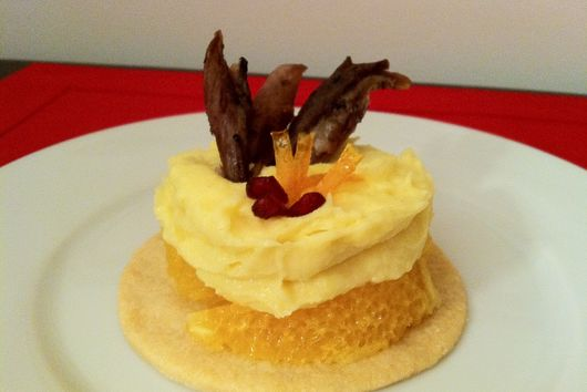 Duck a l'orange Tartlet