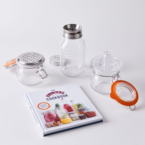 Kilner Kitchen Tool & Storage Jar Set