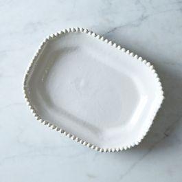 Handmade Ceramic Octagonal Plate