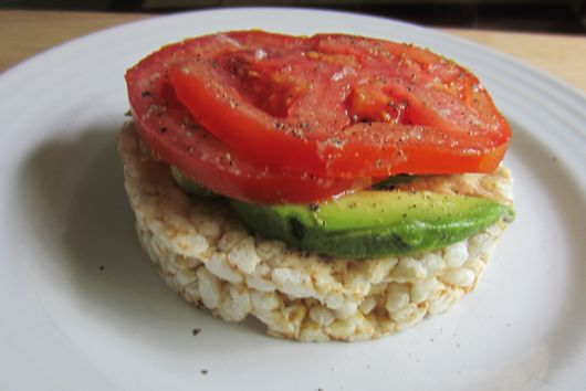 Born again tomato sandwich