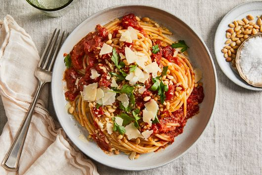 Jammy Tomato-Anchovy Sauce From Phyllis Grant