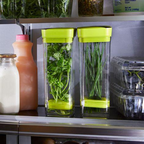 Fresh Herb Storage (Set of 2)