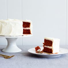 Naturally-Dyed Red Velvet Cake with Cream Cheese Frosting