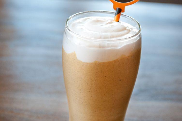 Dairy-Free Pumpkin Milkshake
