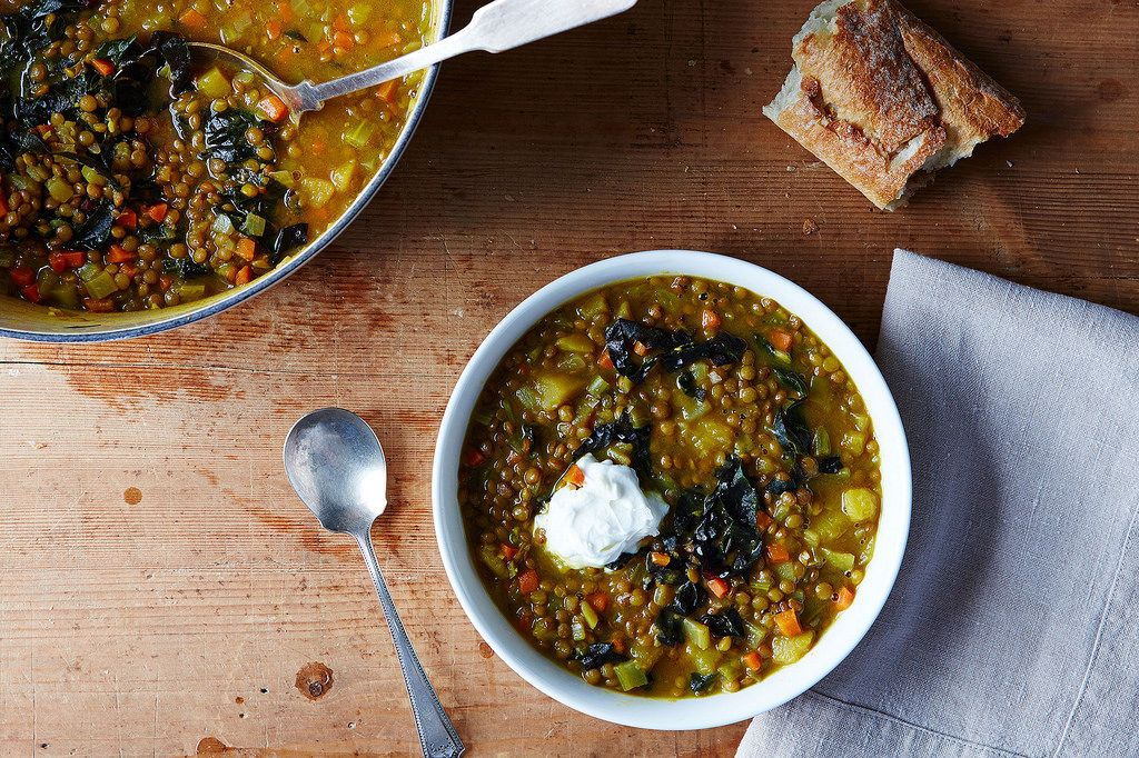 Lentil Soup without a Recipe