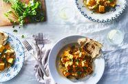 Paneer and Cauliflower Makhani