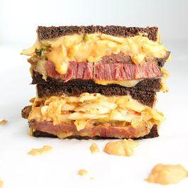 Dc16d984 1966 491e 83ed 380ddf9f5d68  fg s kimchi reuben reuben wsauce medium good