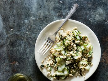 A Couscous Salad That Doesn't Actually Include Any Couscous