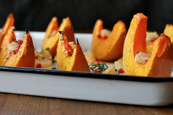 Roasted Squash with Grapefruit