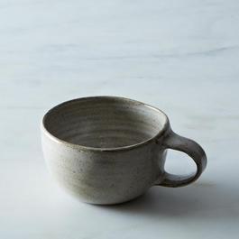 Wheel-Thrown Stoneware Mug
