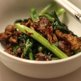 Chinese Braised Pork and Broccoli