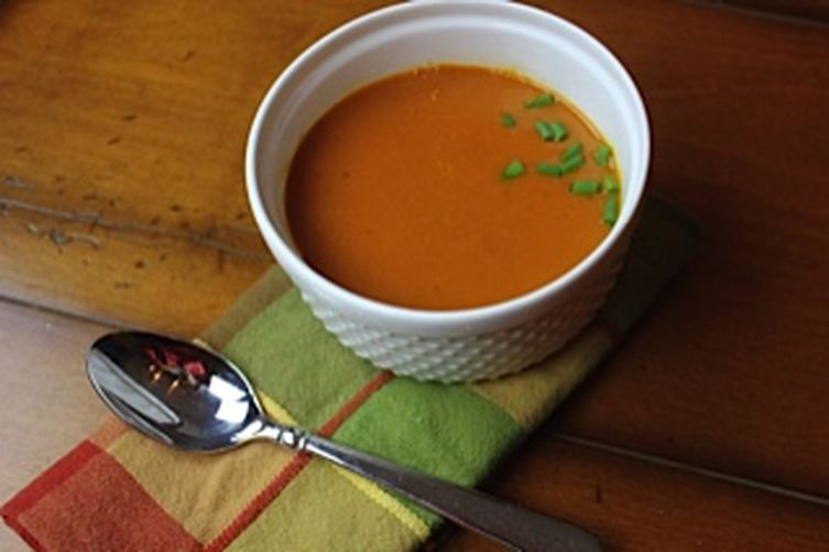 Warming Carrot and Parsnip Soup